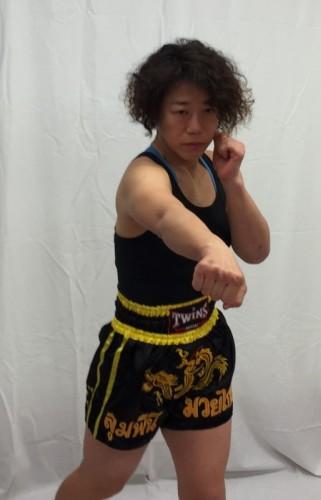 米沢知沙選手